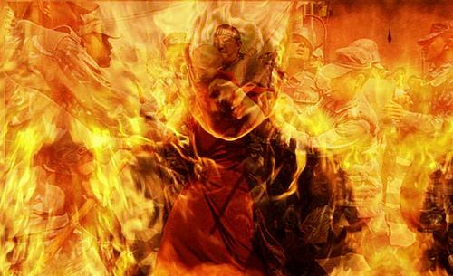 9743120030_56c2667b8d_self-immolation