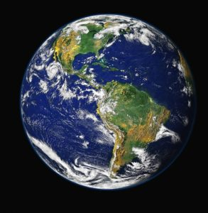 As can be seen from this photo of planet Earth, when all the known gender identities are laid out next to each other, they cover an area the size of the Amazon.