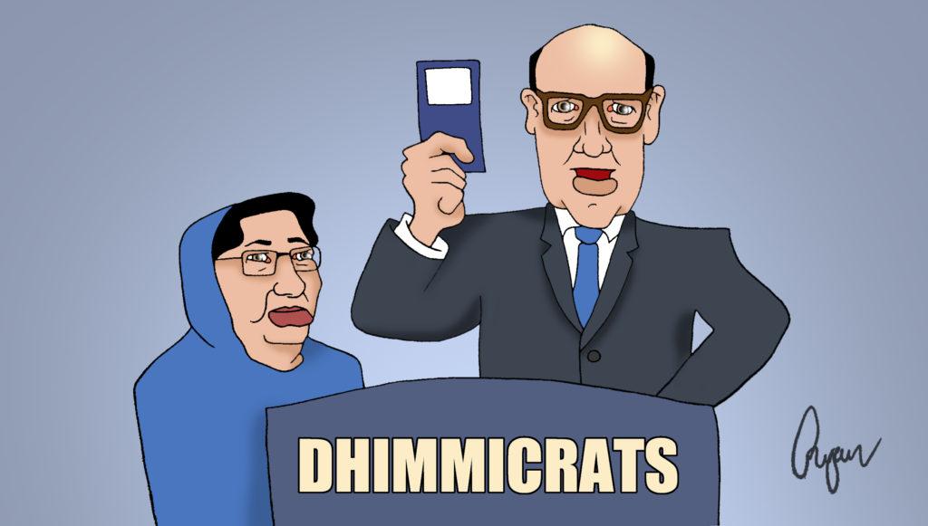 No thank you Khizr Khan, I have my own copy. Cartoon by Ryan Fletcher