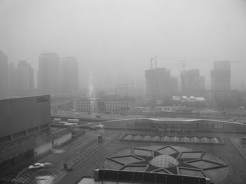 Beijing smog photo