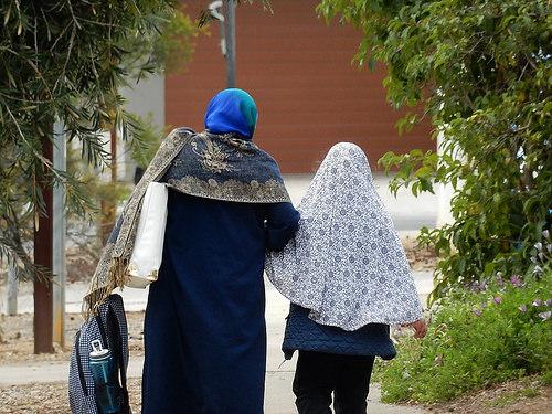 muslim migrant photo