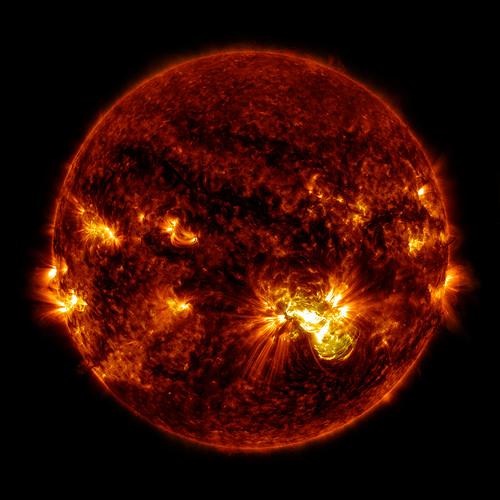 Sun spot photo