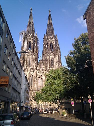Cologne train station photo