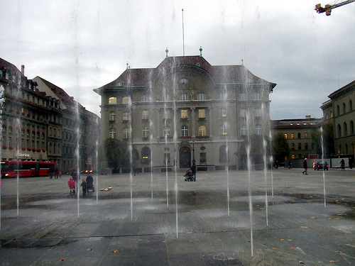 Swiss bank photo