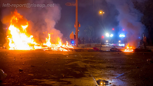 hamburg riots photo
