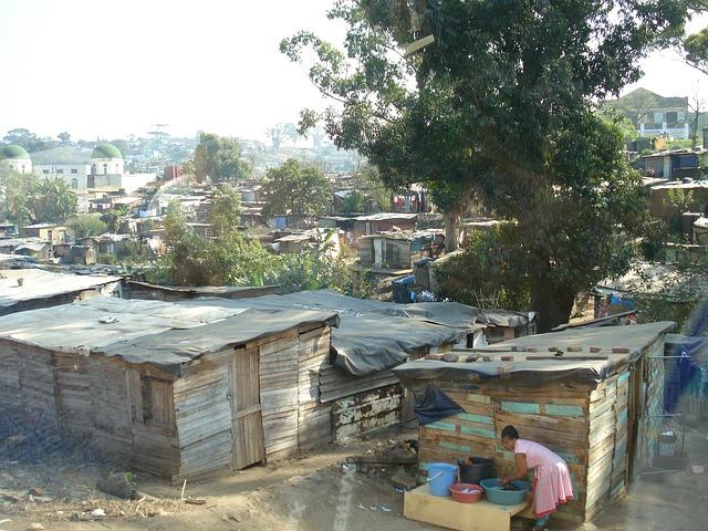 Africa poverty photo