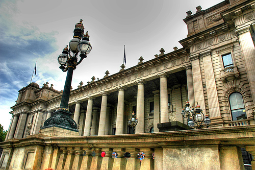 Victorian parliament house photo