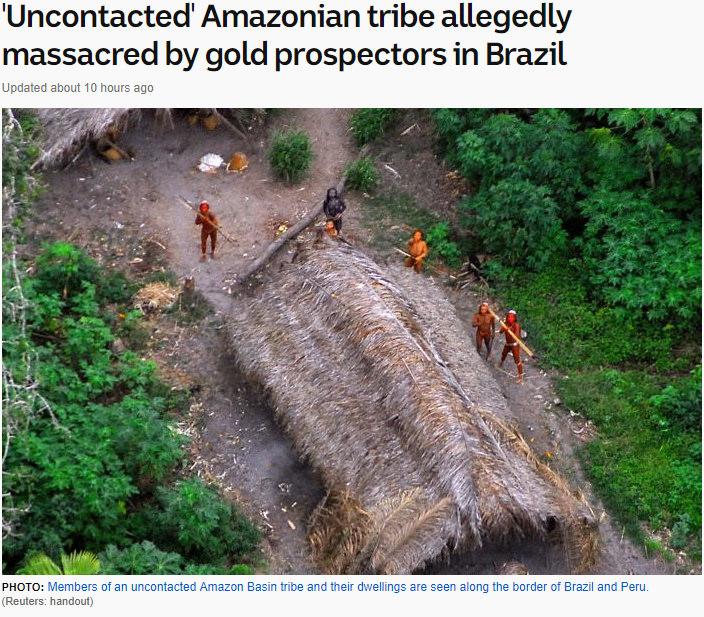 amazon tribe extinct photo