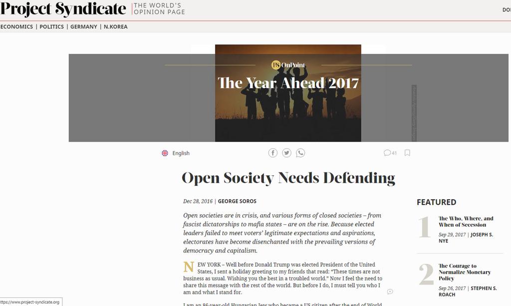 Soros open society response