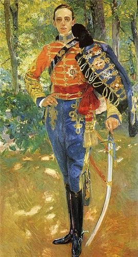 King alfonso photo