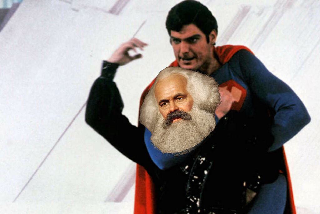 General Zod Karl Marx