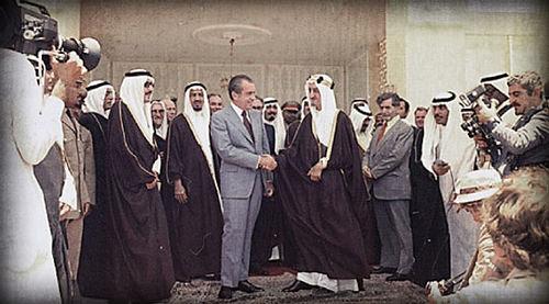 Nixon Saudis