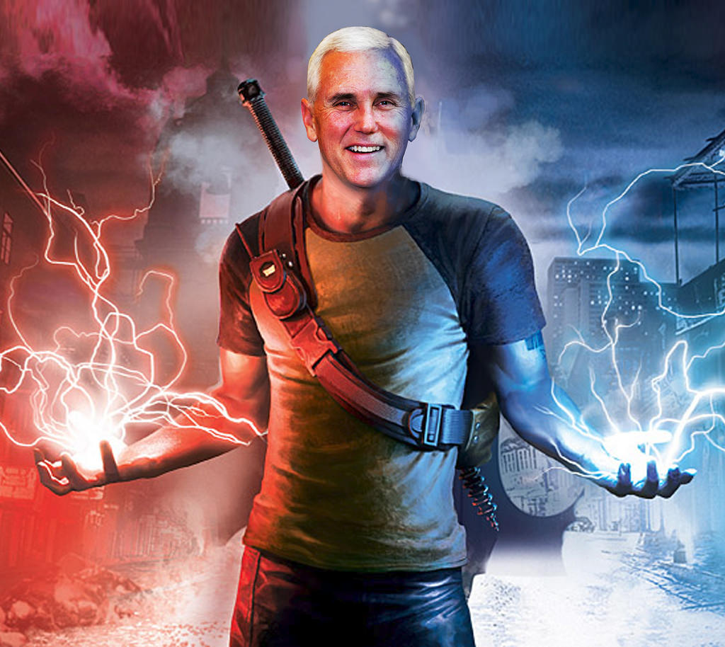 Pence will zap the gay right out
