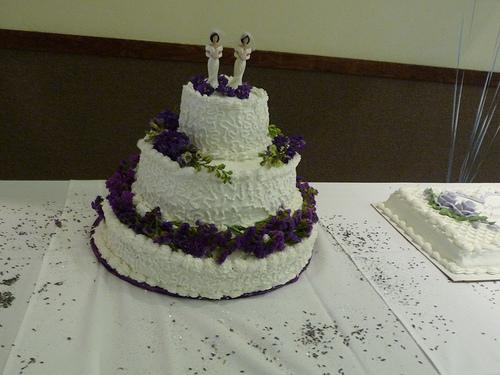 Gay wedding cake photo