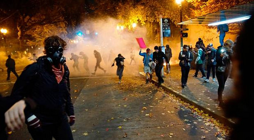 Trump election riots