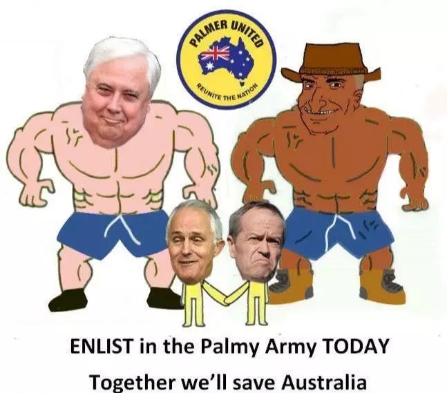 Enlist in the Parmy Army