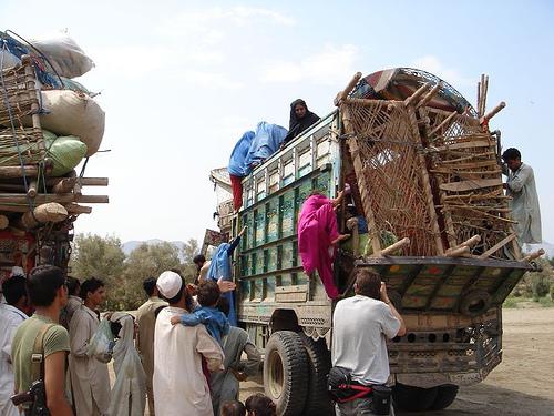 Afghan refugee photo