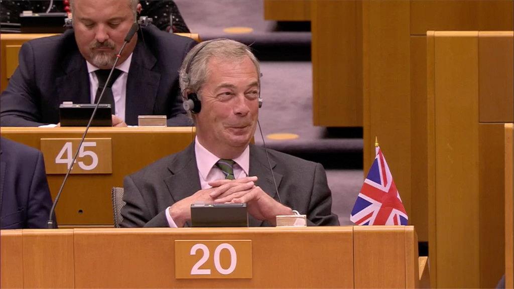 Nigel Farage dgaf