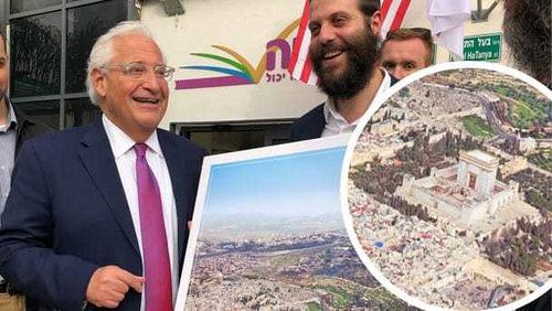 US Ambassador to Israel, David Friedman